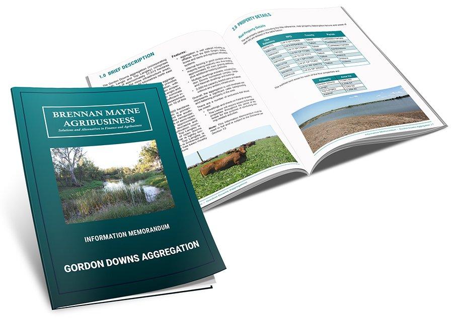 Brennan Mayne Agribusiness Information Memorandum