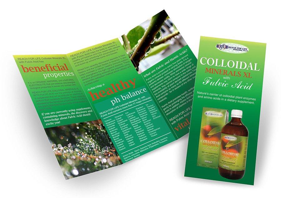 Colloidal Minerals brochure