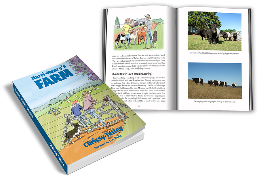 Harri-Henry's Farm book