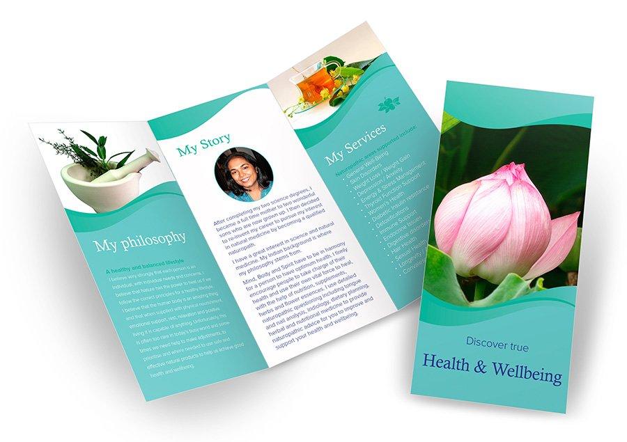 In2 Holistic Health brochure