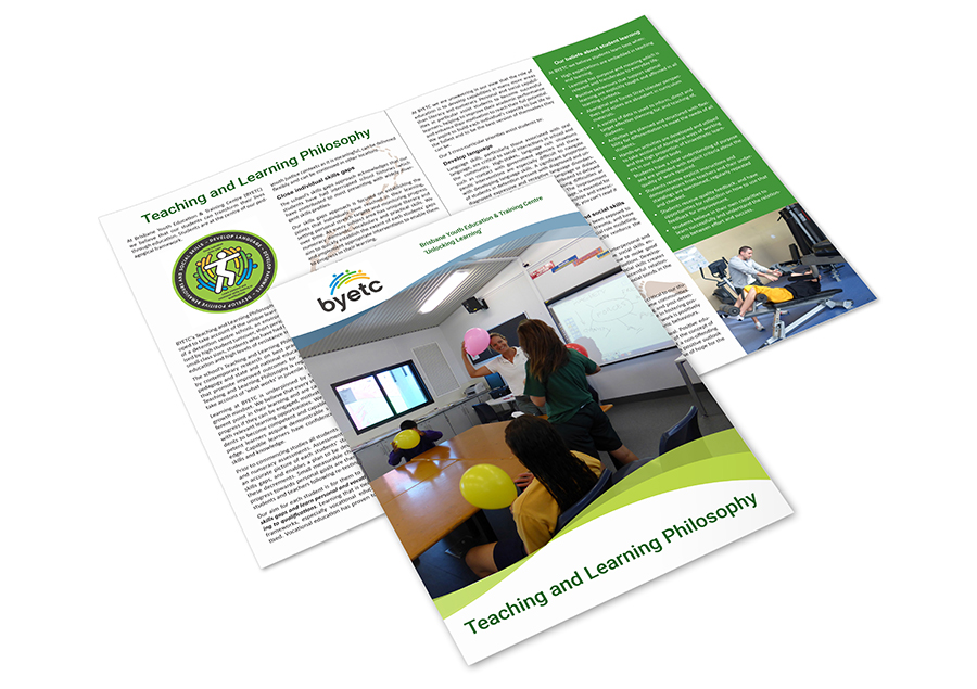 Teaching and Learning Philosophy Framework brochure