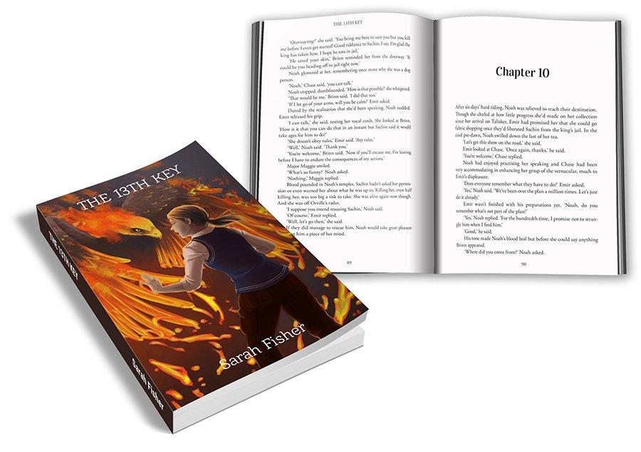 The 13th Key YA book