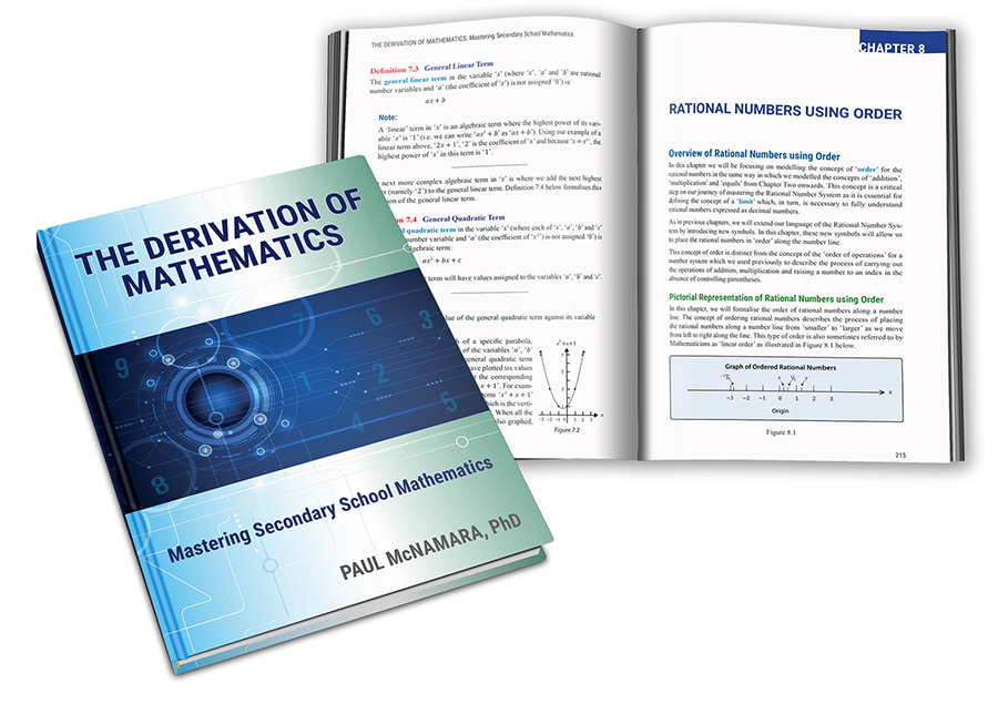 The Derivation of Mathematics textbook