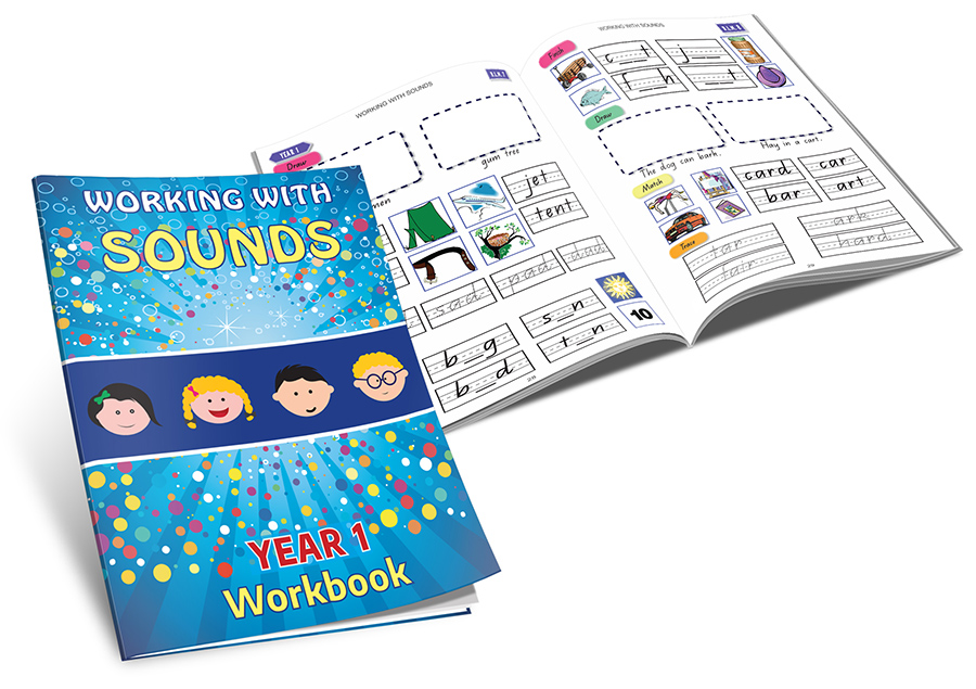 Working With Sounds Year 1 workbook