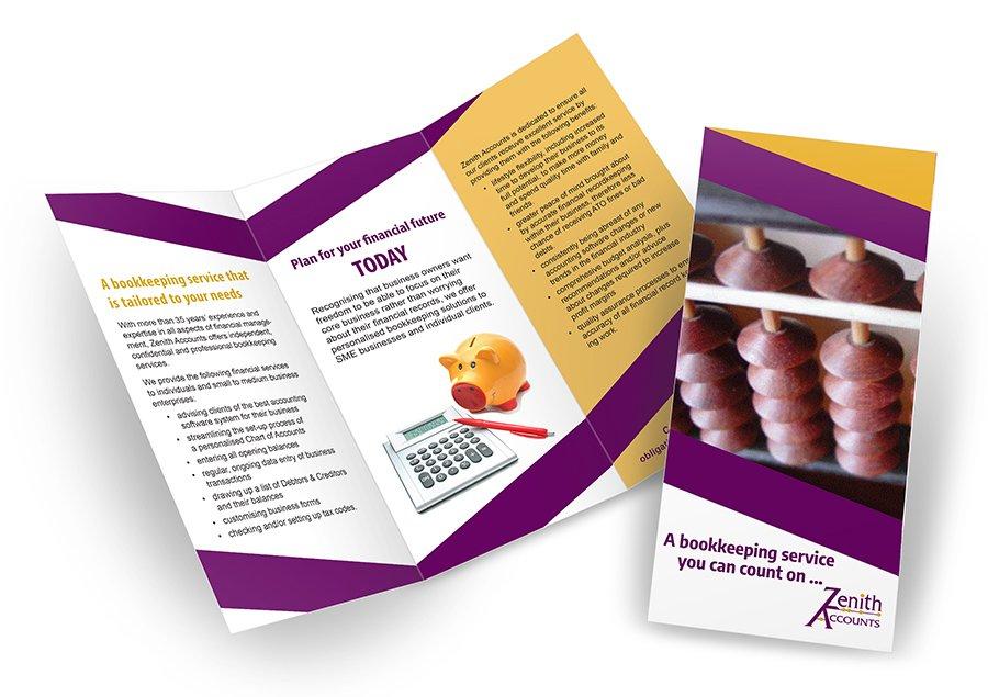 Zenith Accounts brochure